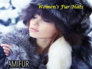 Women's Fur hats
