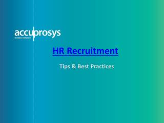 Recruitment Services in Hyderabad