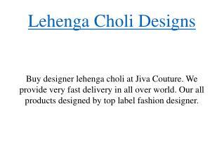 Lehenga Choli Designs