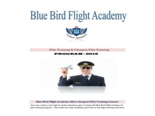 Pilot training,CPL Pilot training in Canada - BBFA