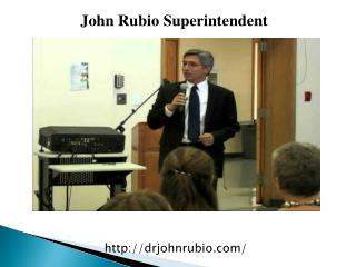 John Rubino Superintendent