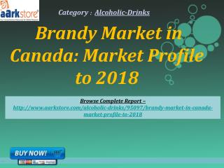 Aarkstore -Brandy Market in Canada