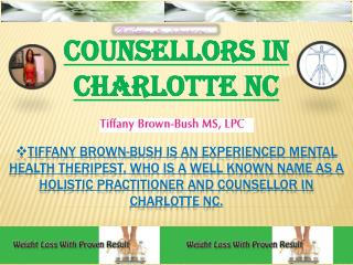 Counsellors in Charlotte NC