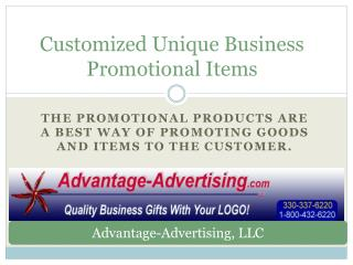 Customized Unique Business Promotional Items