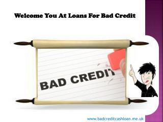Getting Finance From Bad Credit  And Know How It Can Help Yo