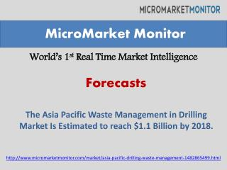 Asia-Pacific Drilling Waste Management Market