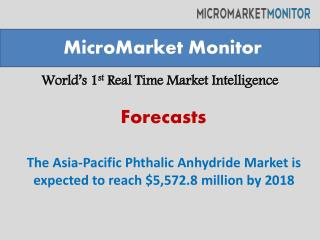 The Asia-Pacific Phthalic Anhydride Market
