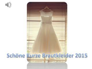 Elegante kurze Brautkleider 2015 Online