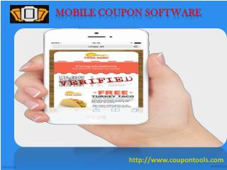 Coupon tools Service