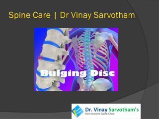 Spine Care By dr vinay sarvotham