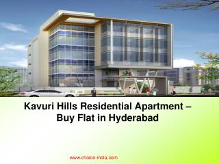 Kavuri Hills Residential Apartment – Buy Flat in Hyderabad