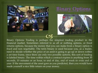 Binary options all or nothing