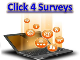 How To Make More Click 4 Surveys By Click 4 Surveys Review
