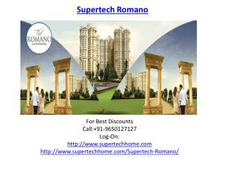 Supertech Romano Luxury Apartments