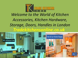 Kitchen Storage in London