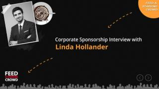Corporate Sponsorship Interview With Linda Hollander - Part1
