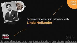 Corporate Sponsorship Interview With Linda Hollander -Part4
