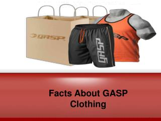 Get to know GASP Clothing
