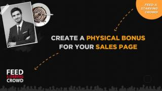 Createa Physical Bonus For Your Sales Page