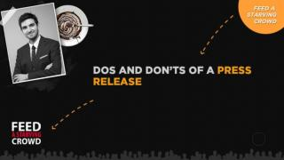 DOs And DONTs Of A Press Release