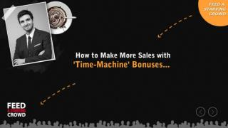 How To Make More Sales With 'Time-Machine' Bonuses