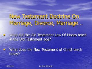 Marriage Divorce Marriage