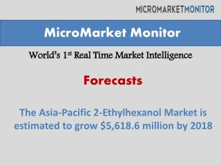 Asia pacific 2 ethylhexanol market Future Growth