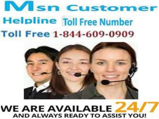1-844-609-0909 @ MSN Customer Support Number