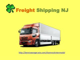 Freight shipping NJ