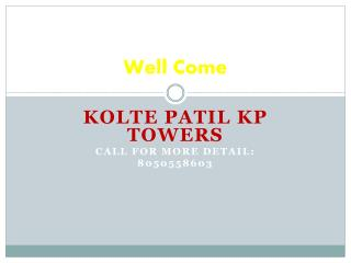 kolte patil kp towers
