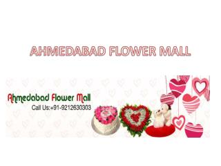 Valentine's day flowers to Ahmedabad