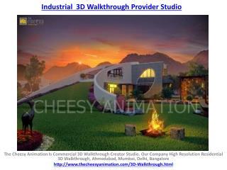 Industrial  3D Walkthrough Provider Studio