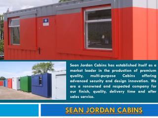 Sean Jordan Cabins