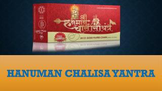 Hanuman chalisa yantra - Achieve success