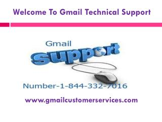 Gmail Password Support Toll Free Number 1-844-332-7016