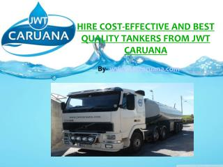 Hire Tankers with Just a Phone Call