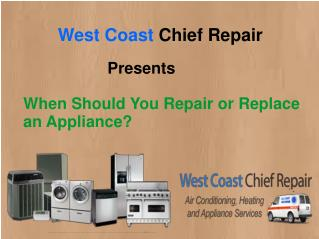 When Should You Repair or Replace an Appliance?