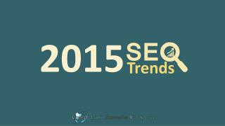 SEO is keep changing, a Strategy plan for SEO 2015