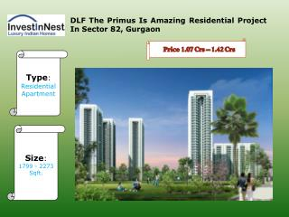Book Your Apartments In DLF The Primus - Gurgaon