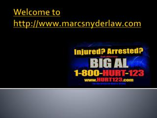 auto accident attorney Baltimore