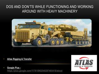 Suggestions you shouldn't neglect as a Heavy Machinery Techn