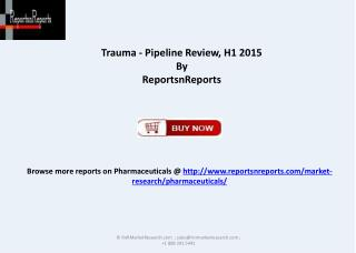 Therapeutic Development for Trauma
