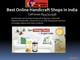 Best online handicrafts shops in india