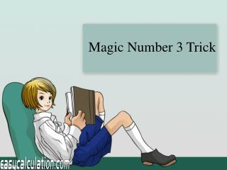 Magic Number Three Trick