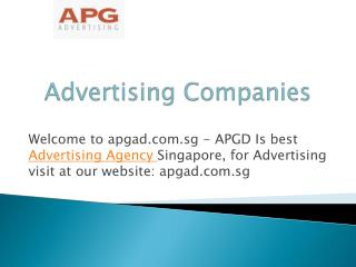 Best Ad Agencies in Singapore