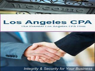Professional Los Angeles Accounting and CPA Services in Burb