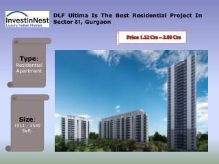 Buy Your Dream Flats In DLF Ultima - Gurgaon