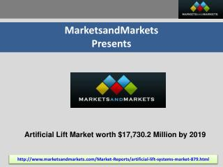 Artificial Lift Market by Mechanism, Types - 2019