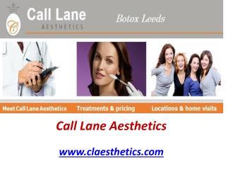 Botox Leeds - Claesthetics.com