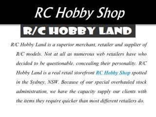 Perfect Hobby Shop for Multipurpose Tools in Australia